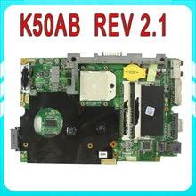 Original para ASUS K40AD K40AF K50AB K50AD K50AF K50AB K40AB madre del ordenador portátil mainboard prueba 100%