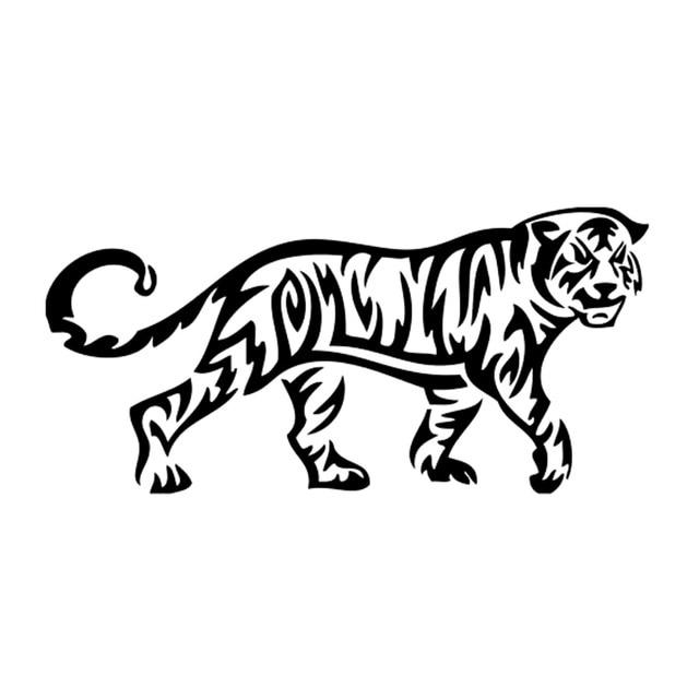 Tatuaje Tigre Tribal 15.8 cm * 7.5 cm tatuaje tribal del tigre salvaje coche creativo