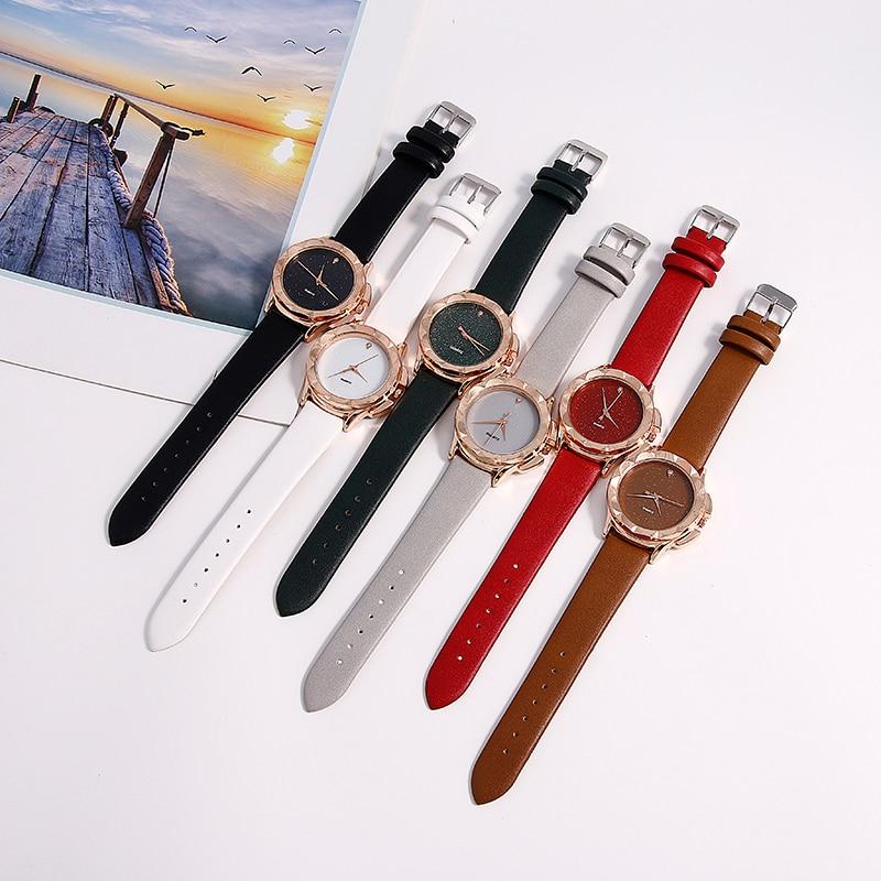 BGG Gloednieuwe 2018 Mode Quartz Horloge Vrouwen Horloges Dames - Dameshorloges - Foto 3