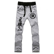 Anime Silver Soul LOVERS pure cotton pants sports casual trousers cosplay gift NEW Fashion