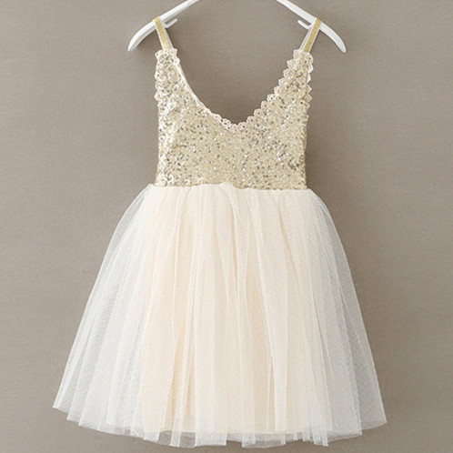 Us 649 Toddler Baby Girl Lace Sequin Tulle Dress Kids Girls V Neck Suspender Dresses With Crochet Back Wholesale Girls Clothes Lot In Dresses
