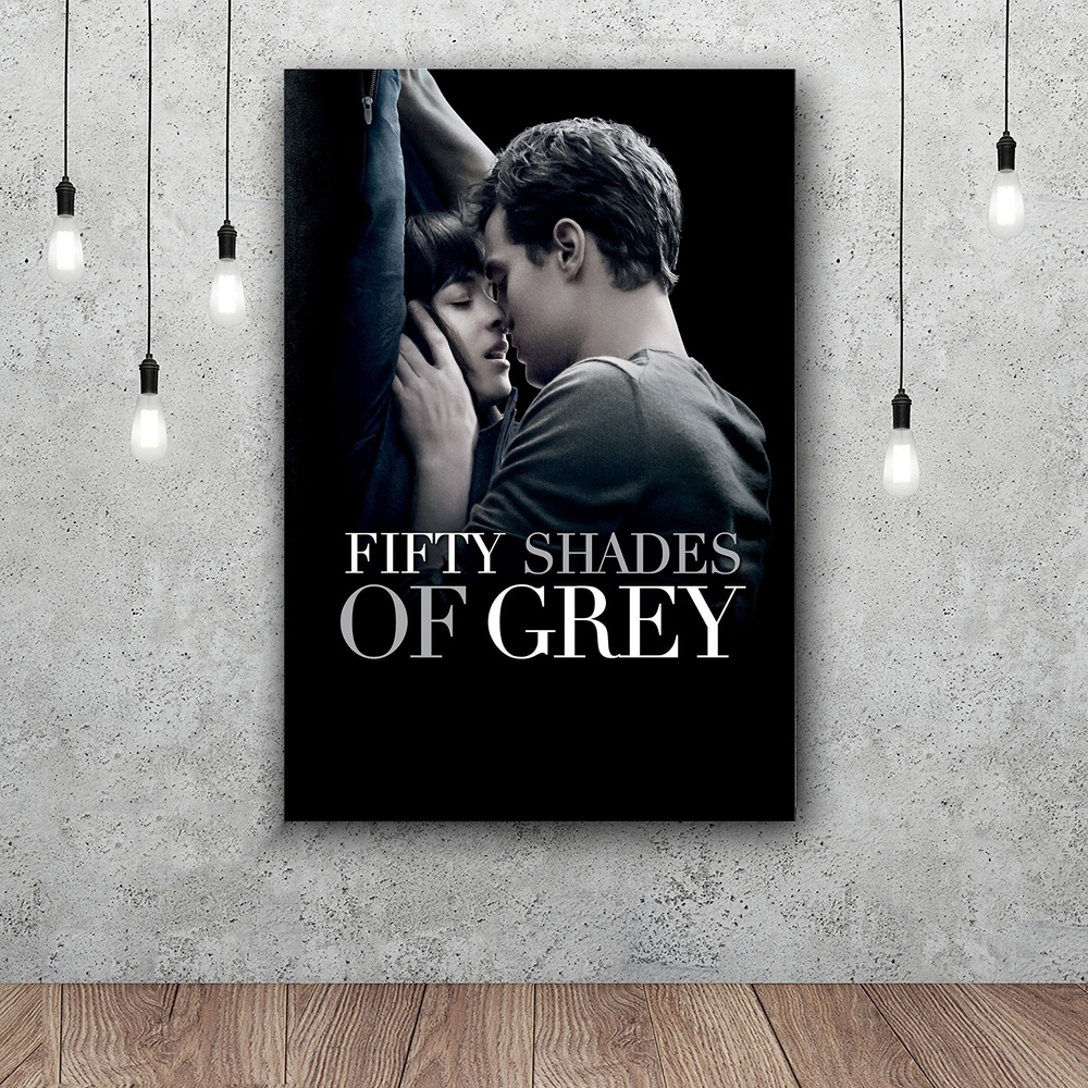 Fifty Shades of Grey Love Movie Poster Silk Art Poster Home Decoration 12x18 24x36 inch