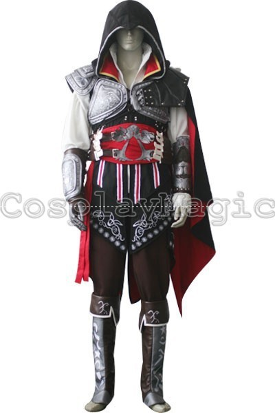 The spot * Cosplay Clothing * Assassin's Creed II Ezio Black Edition Package good quality embroidery version