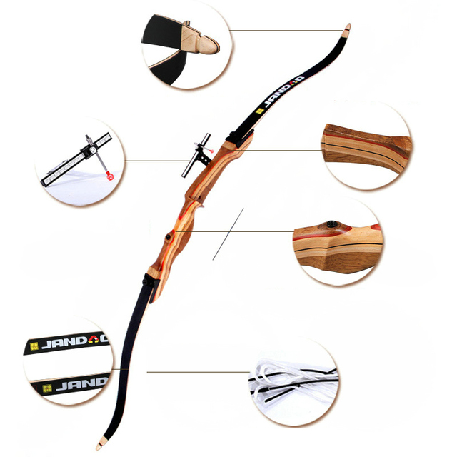 Target Archery Recurve Bow wooden professional Practice