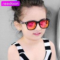 2016 New Fashion Children Sunglasses Boys Girls Kids Baby Child Sun Glasses Goggles UV400 Mirror Glasses