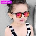 2016 Nuevos Niños de La Manera gafas de Sol Niños Niñas Niños Bebé Niño Gafas de Sol Gafas UV400 espejo gafas Precio Al Por Mayor 1015