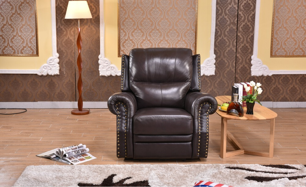 Prime Us 436 0 Luxury Leather Automatic Recliner Sofa Single Seater Chair In Living Room Sets From Furniture On Aliexpress Ibusinesslaw Wood Chair Design Ideas Ibusinesslaworg
