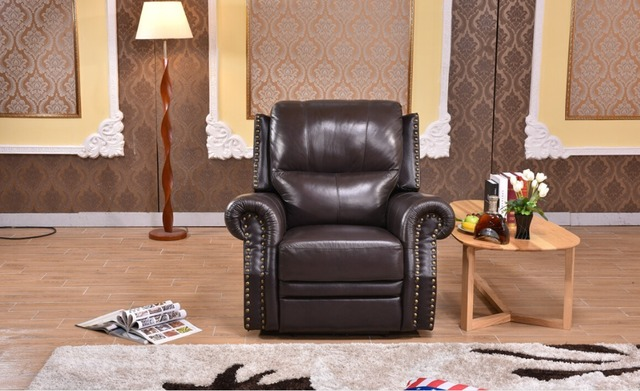 luxury leather living room sets wall shelves decorating ideas automatic recliner sofa single seater chair in