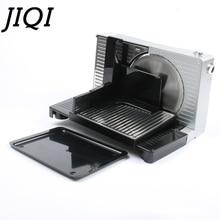 JIQI электрическая ломтерезка для пищевых продуктов, мясорубка для строгания мяса в рулонах баранины, резак для замороженной говядины, автоматическая машина для резки овощей из ягненка, 110 В, 220 В