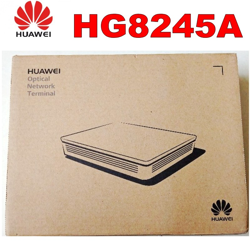 100% Original New HUAWEI HG8245A EPON/GPON ONU ONT 4*FE+2*POTS, SIP, Wifi+Usb Double Protocol English Version With Best Price