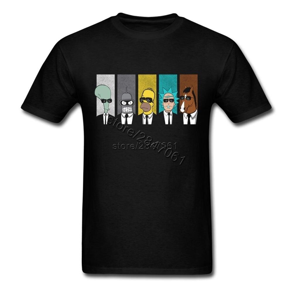 2017 New Rick Morty Tshirt Cool Tv Tee Men Tees Shirt