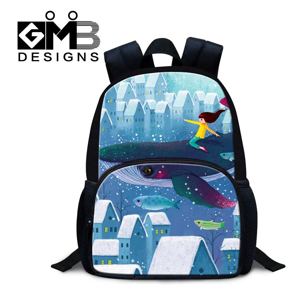Dispalang 3D cartoon back pack for children little girls lovely bookbags kids cute felt backpacks kindergarten mini school bags