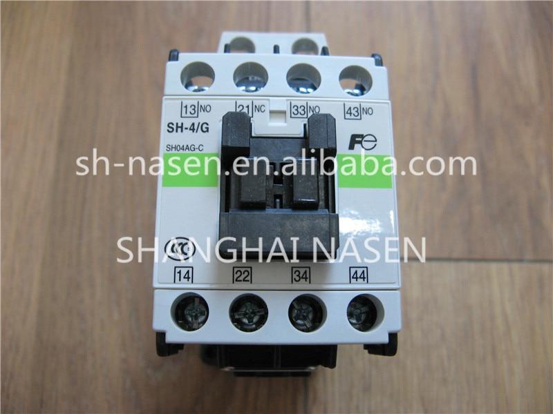 Elevator contactor FUJI contactor SH-4/G SH04AG-CElevator contactor FUJI contactor SH-4/G SH04AG-C