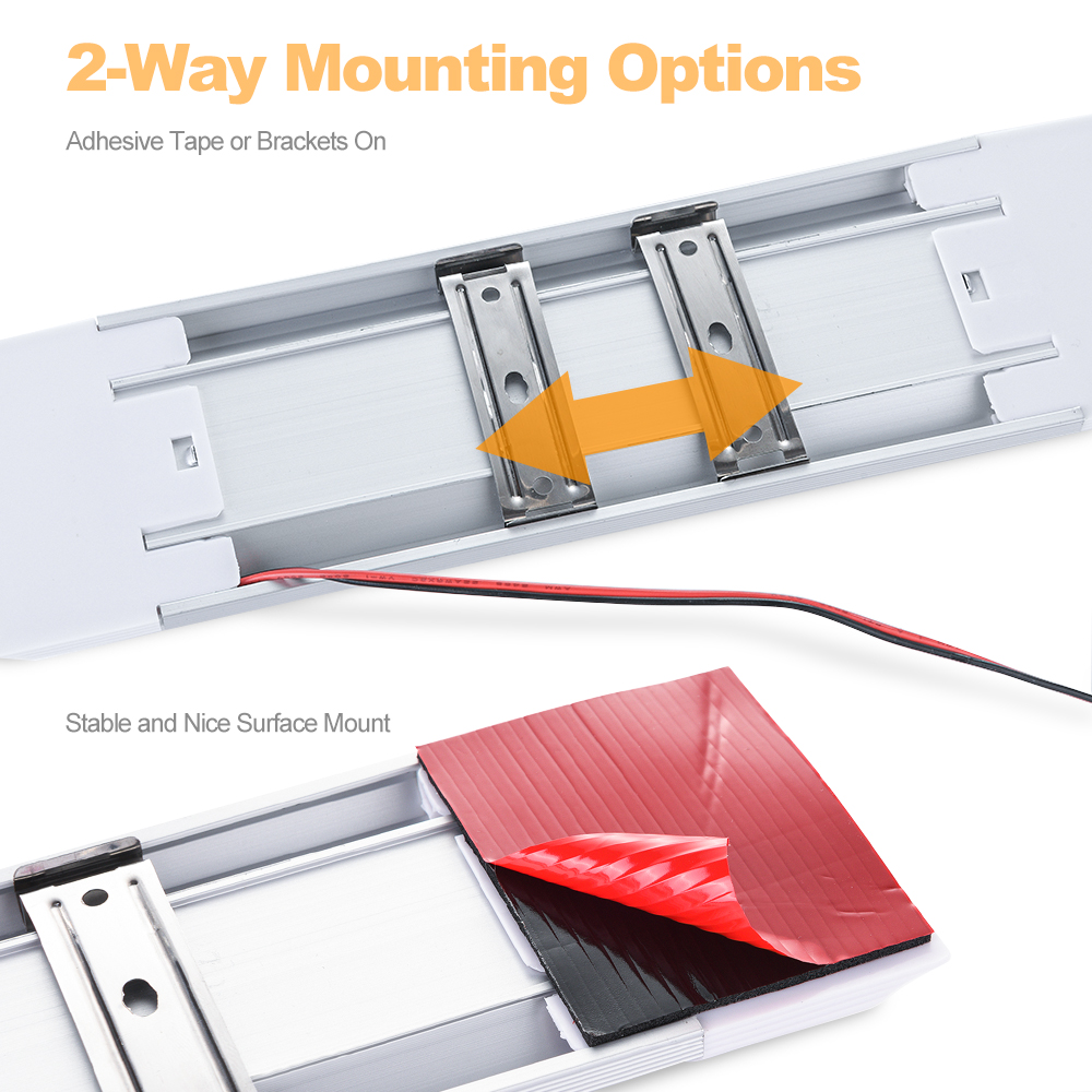 Mictuning Barre lumineuse LED Int/érieur de voiture