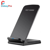 CinkeyPro QI Wireless Charger Quick Charge 2 0 Fast Charging For Samsung Galaxy S6 S7 S8