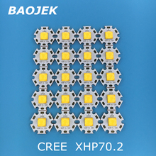 Светодиодная трубка Cree XHP70.2, фонарь на 30 Вт, 4292лм, 6 в, 12 В, диодный cree, «сделай сам», мощсветильник свет для мотоцикла, велосипеда, фары, светодиодные лампы