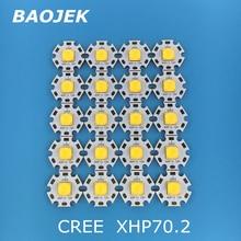 Cree XHP70.2 a mené lampoule tube 30w 4292LM 6V12V lampe de poche cree diode led bricolage forte lumière moto lumière vélo lampe frontale led ampoules