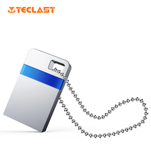 Teclast USB Flash Drive Pendrive 8GB 16GB USB Stick Metallic Silver Waterproof Reminiscence 16gb customized DIY For Pc Pill U Disk