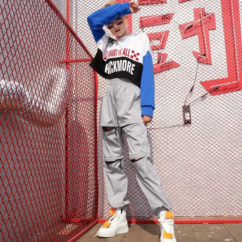 HOUZHOU 2019 Spring Autumn Zipper Cargo Pants Sweatpants High Waist Women Elastic Waist Solid Streetwear Hip Hop Loose Joggers