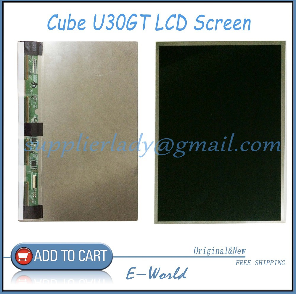 Original and New 10.1inch LCD screen for Cube U30GT tablet pc U30GT LCD Display free shipping free shipping original 9 inch lcd screen cable numbers kr090lb3s 1030300647 40pin