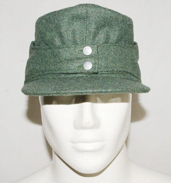 WWII GERMAN WH EM M43 PANZER WOOL FIELD CAP SIZE-31733