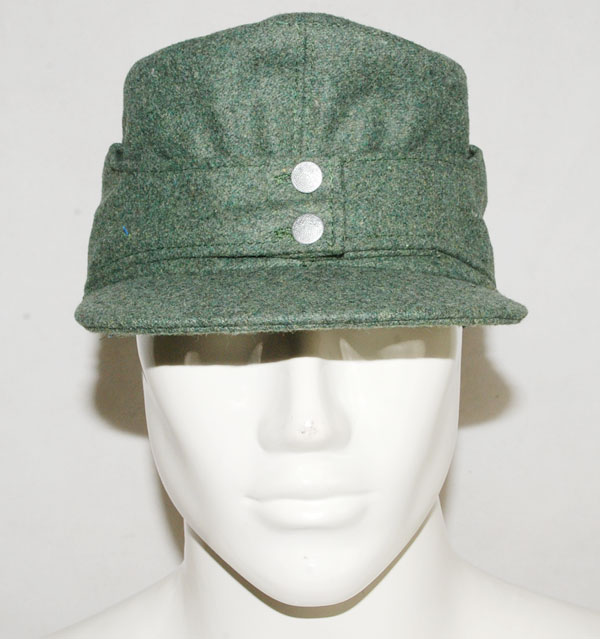 WWII GERMAN WH EM M43 PANZER WOOL FIELD CAP SIZE-31733