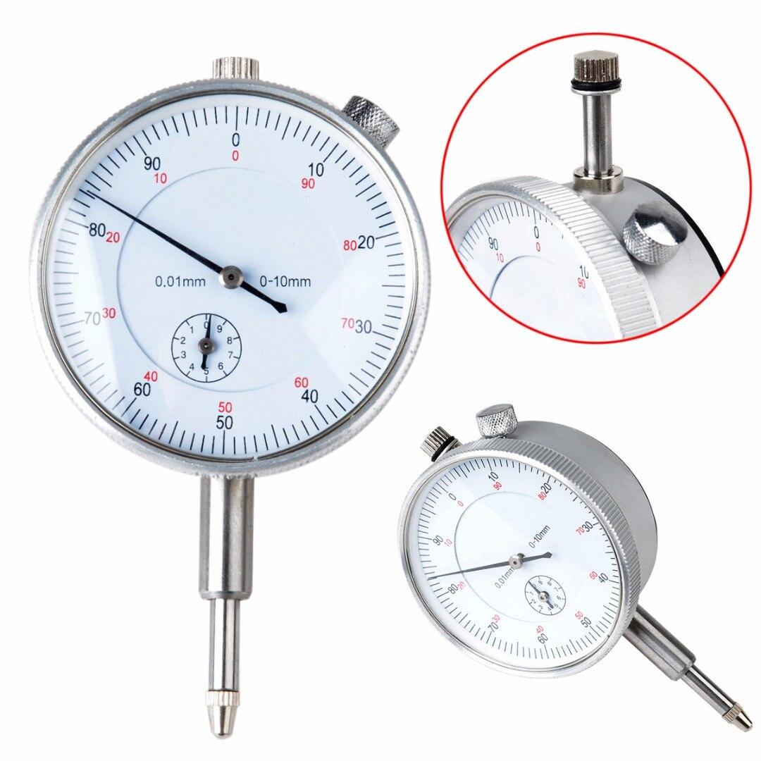 1pc Precision Metal Gauge Dial Indicator 0.01mm Accuracy Measurement Instrument 55mm Diameter
