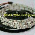 SK6812MINI 3535 4 MM/SK6812 5050 5mm DC5V led pixel RGB tira 1 m 2 m 5 m 60 LEDs/m 4mm 5mm FPC NÃO 60 pixels/M como WS2812B à prova d' água