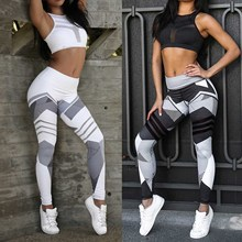 New Arrive Sexy Mesh Patchwork Sports Leggings Women Gym Running Yoga Legging Fitness Jogging Trousers Sportswear Yoga Pants