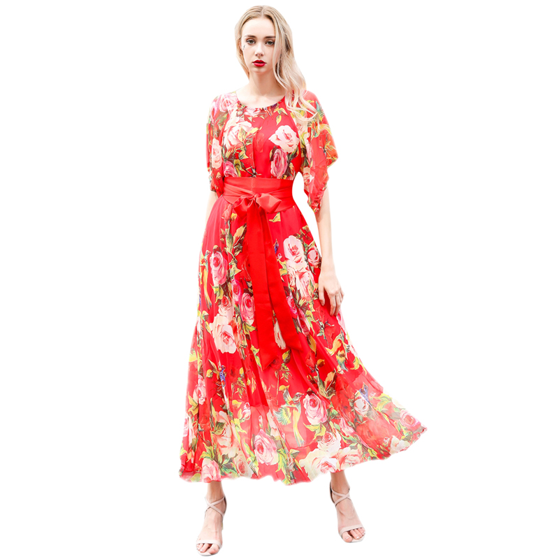 2019 bohemia chiffon lightweight bridesmaid maxi dress