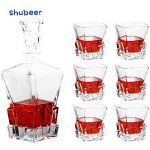 Набор стаканов для виски со стаканом набор графинов из 6 старого