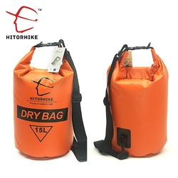 Hitorhihe 15l waterproof dry bag outdoor swimming camping rafting storage bag with with adjustable straps 5.jpg 250x250