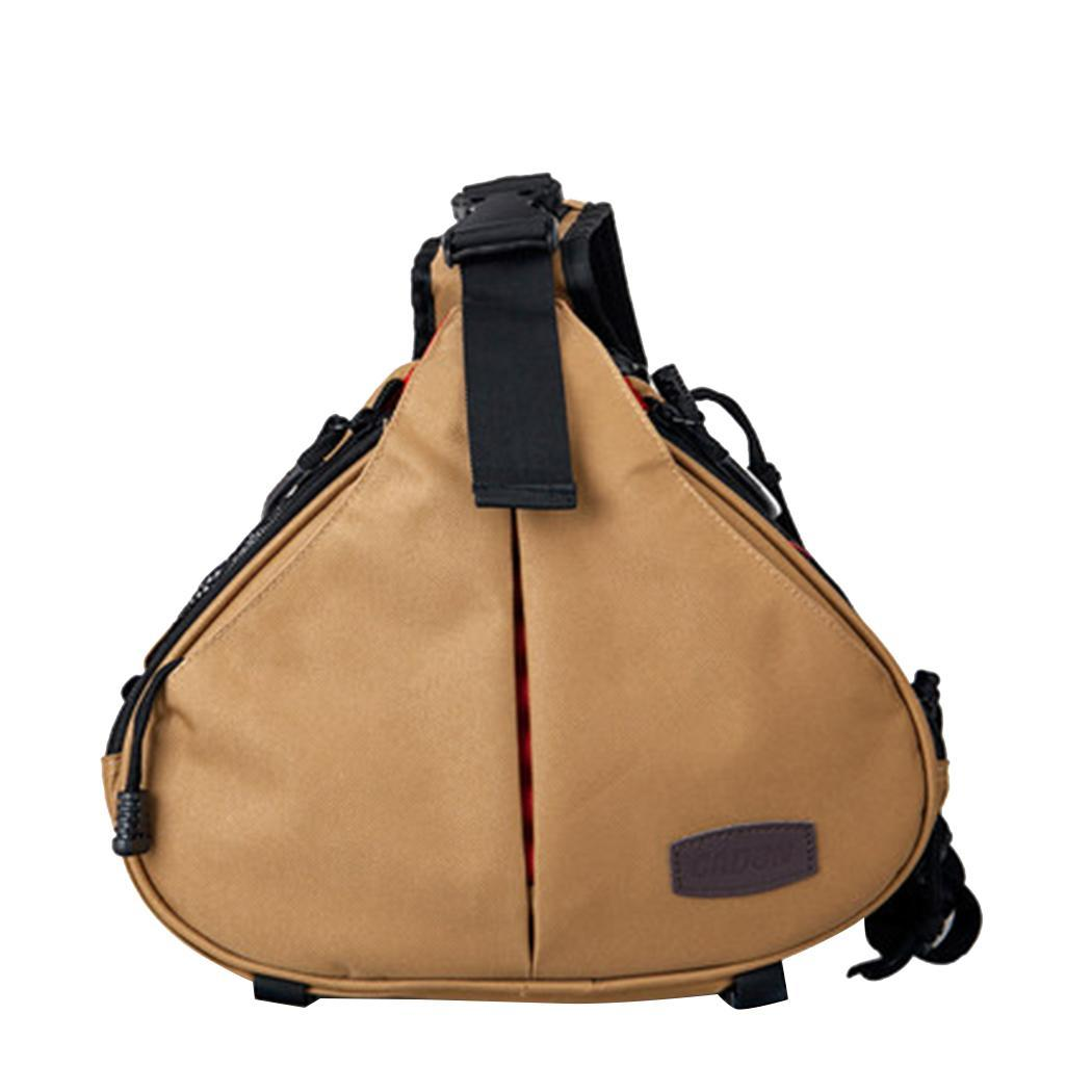 Nylon Messenger Shoulder DSLR Camera Bag Waterproof Can be used for camera. Travel with Rain Cover