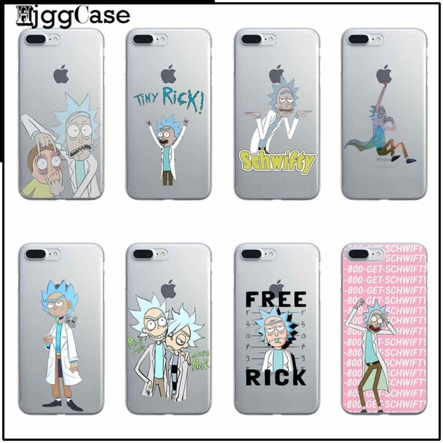 phone Case Arrivals Original Rick And Morty cover For iPhone 7 7Plus 4 SE 5  5S 5C 6 6S 6 Plus TPU soft silicone phone Case cover d3e2e7722bb