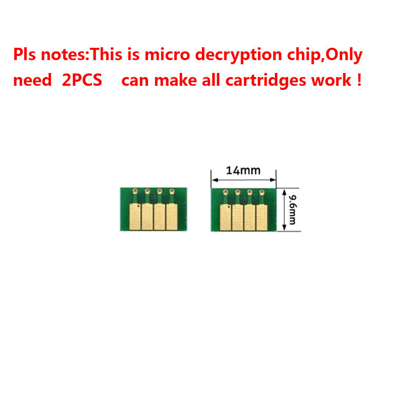 2 pcs Auto reseting ARC chips Z3100 for HP cartridge 70 and for HP printer Z3100 12 colors on high quality2 pcs Auto reseting ARC chips Z3100 for HP cartridge 70 and for HP printer Z3100 12 colors on high quality