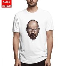 Breatking bad t shirt Mens O-neck Mr White T Shirt Fashion Camiseta Cotton S-6XL Tee 100% Nice Short-sleeved