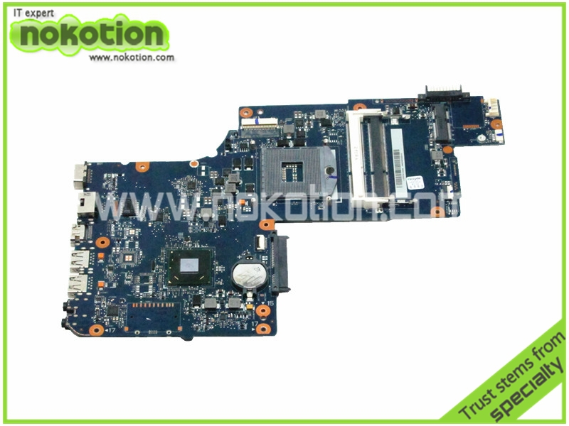 NOKOTION H000041610 laptop motherboard for toshiba satellite C875 HM70 17.3 inch DDR3 free shipping hot new free shipping h000052580 laptop motherboard fit for toshiba satellite c850 l850 notebook pc video chip 7670m