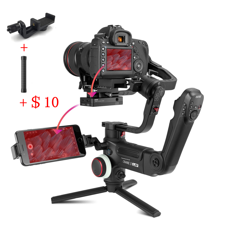 ZHIYUN Crane 3 LAB 3 Axis Handheld Gimbal Stabilizer 1080P Full HD Wireless Image Transmission for