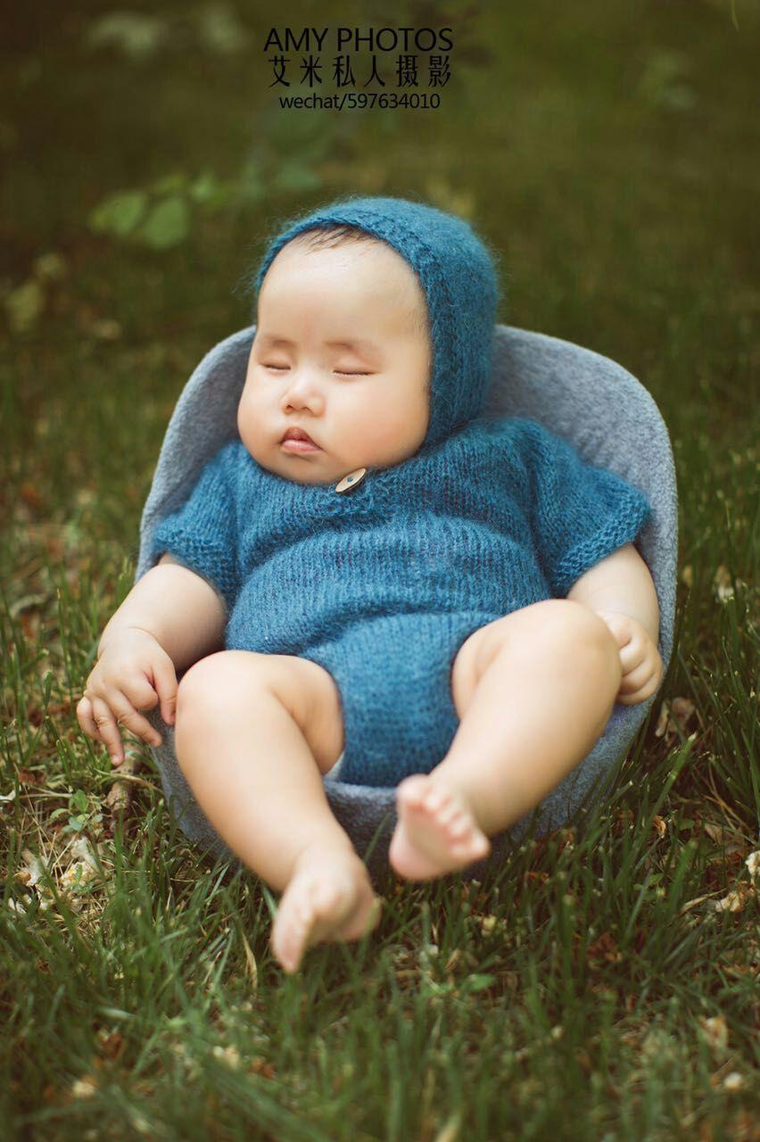 Baby mohair outfits Жаңа туылған Mohair Жалпы Romper - Балаларға арналған киім - фото 6