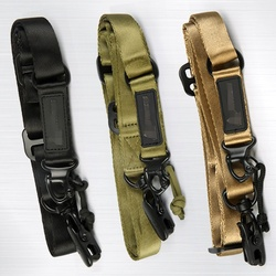 Tactique pistolet fronde 2 points Airsoft fronde MS2 Bungee ceinture sangle militaire tir chasse accessoires fusil fronde pistolet corde