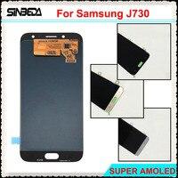 Sinbeda Super AMOLED HD 5 5 LCD Pantalla For Samsung Galaxy J7 2017 J730 J730F LCD