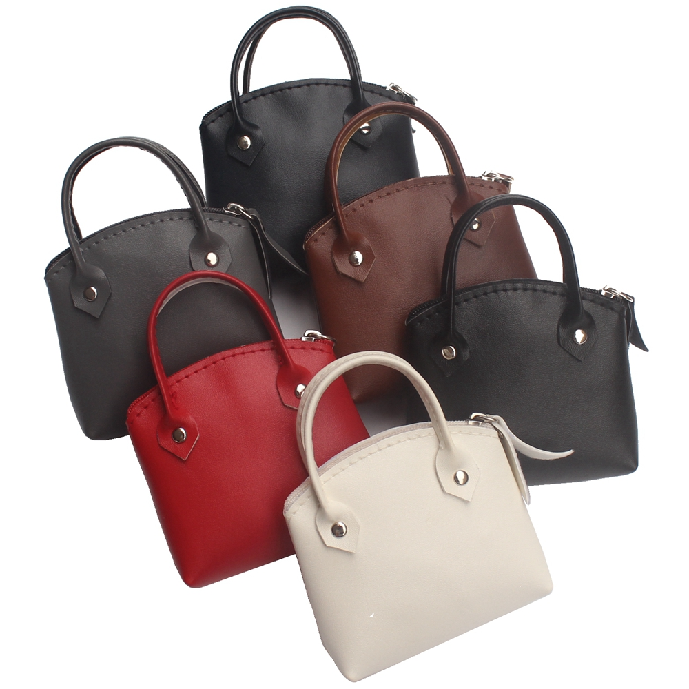 Coin Purse Fashion Super Mini Handbag Model Women Clutch Change Purse Lady Zipper Key Coins Bag Female Money Small Handbag Pouch