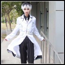 New Arrival Anime Tokyo Ghoul : re Cosplay Costume Sasaki Haise Uniforms Kaneki Ken Suits Coat + Shirt + Tie + Pants + Belt
