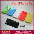 100% оригинал 5 черный цвет Завершено Полный Назад Крышку Корпуса Mid Кадров Замена Ассамблеи Для iPhone 5C