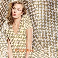 Summer linen cotton fabric classic grid printing dress linen fabric breathable fashion cotton fabric wholesale cotton cloth