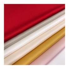 New Solid Color Bright Silk Velvet Satin Fabric Spring and Summer Women Shirt Sleep Clothes Decorated Textile Materials