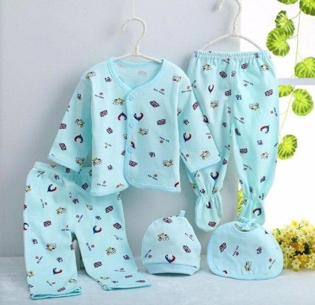 c6bd277496218 Nouveau né bébé garçon fille vêtements ensemble 0 6 mois 100% coton ...
