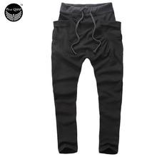 Mens Joggers 2017 Pantalon Homme Men Pants Mallas Hombre Large pockets Sweatpants Jogger Pantalones XXL