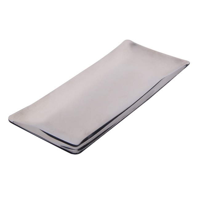 Kitchen Storage Trays Gadgets Stainless Steel Hand Towel Tray Napkin