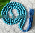 Miss charm Jew970 Tibet Buddhist 108 Turquoise Prayer Beads Mala Necklace, meditation, Hinduism